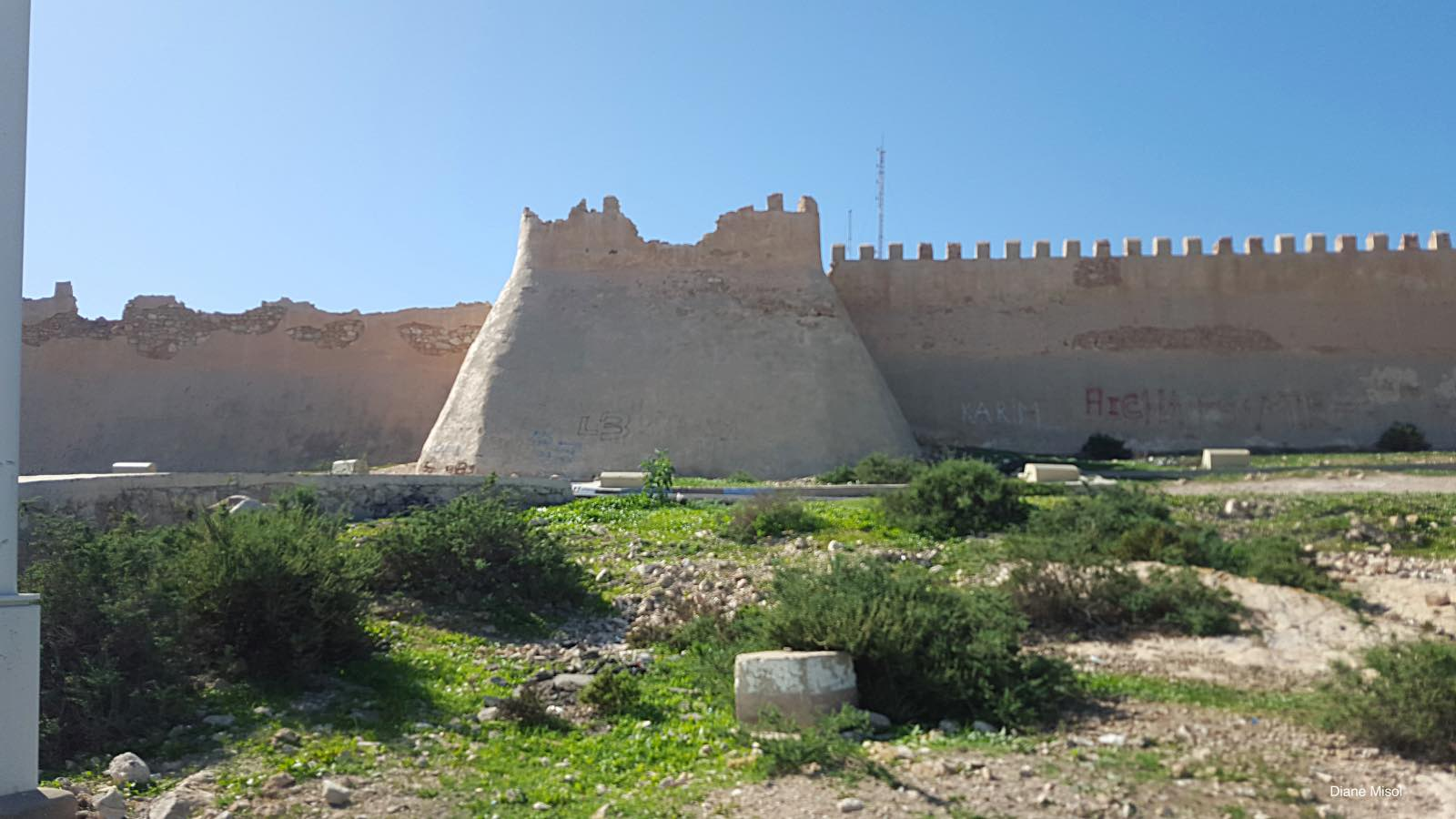 Ancient Kasbah / Casbah Fort Wall, Agadir, Morocco