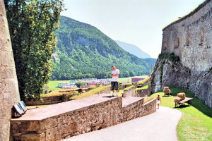 Kufstein Fortress Rear Wall View