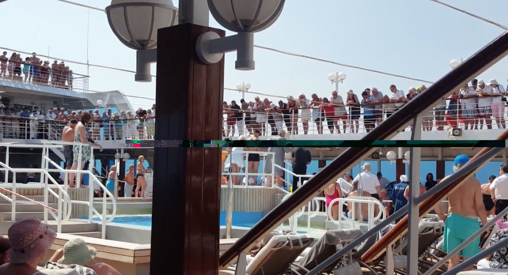 Pool Party - Azamara Cruise
