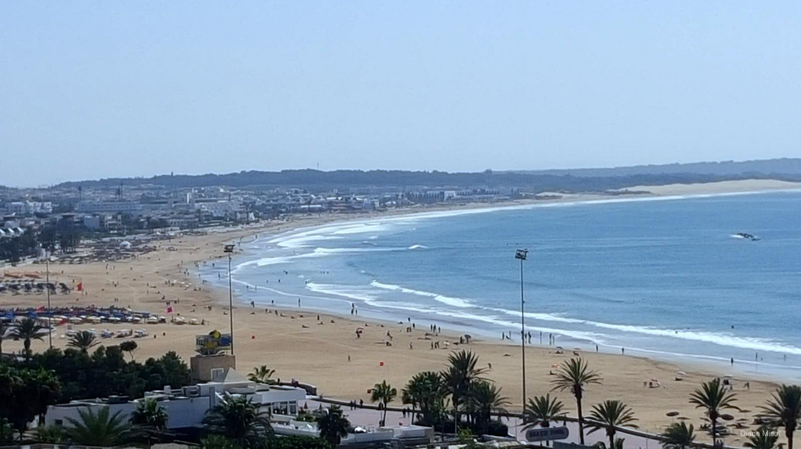 Beach View From Kasbah, Agadir, Morocco