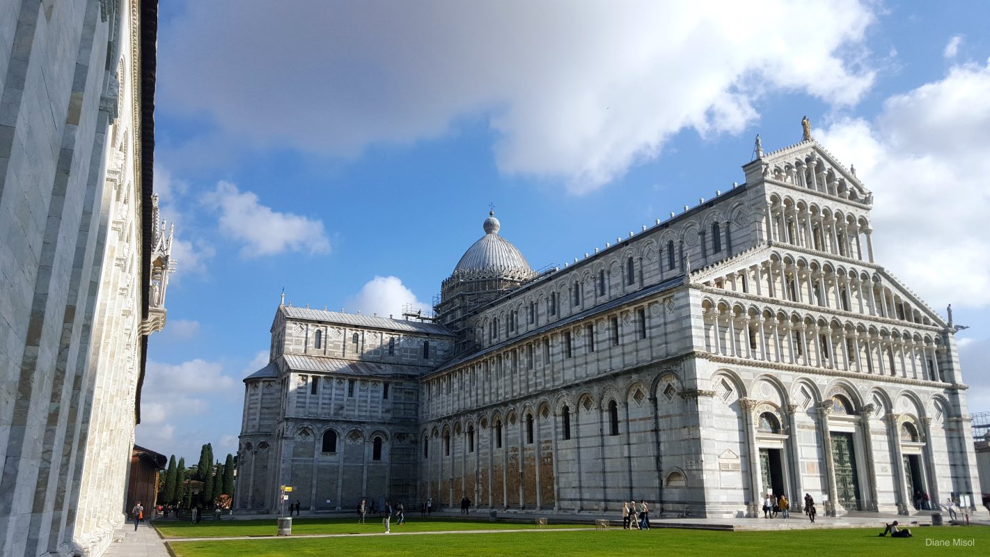 The Beautiful Piazza dei Miracoli, Pisa, Italy