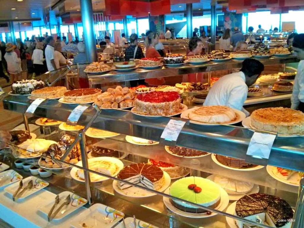 Cruise Buffet Pies