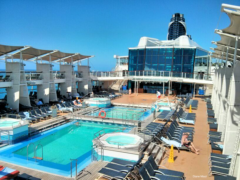 Pool Deck Celebrity Cruise