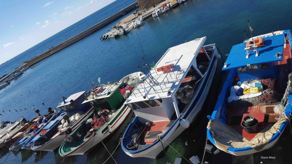 Fishing Boats, Gallipoli, Italy