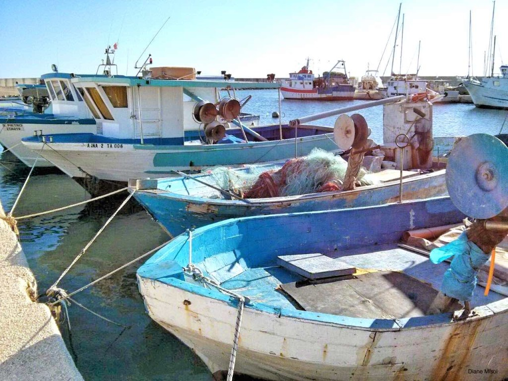 Fishing Boats, Puglia, Italy