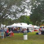Lakeport festival booths