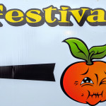 Sour Orange Festival Sign