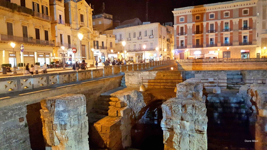 Lecce, Italy at night
