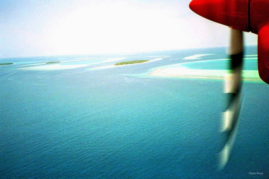 Aerial View Maldives