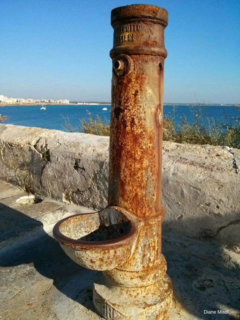 Old Water Fountain, Gallipoli, Italy
