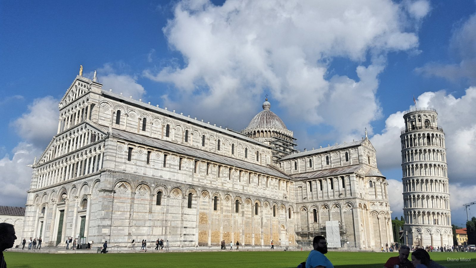 Piazza dei Miracoli, Leaning Tower of Pisa, Italy