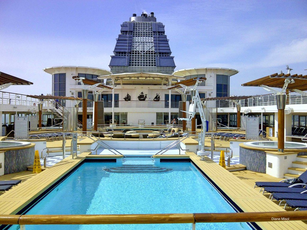 Celebrity Constellation Cruise Ship Pool