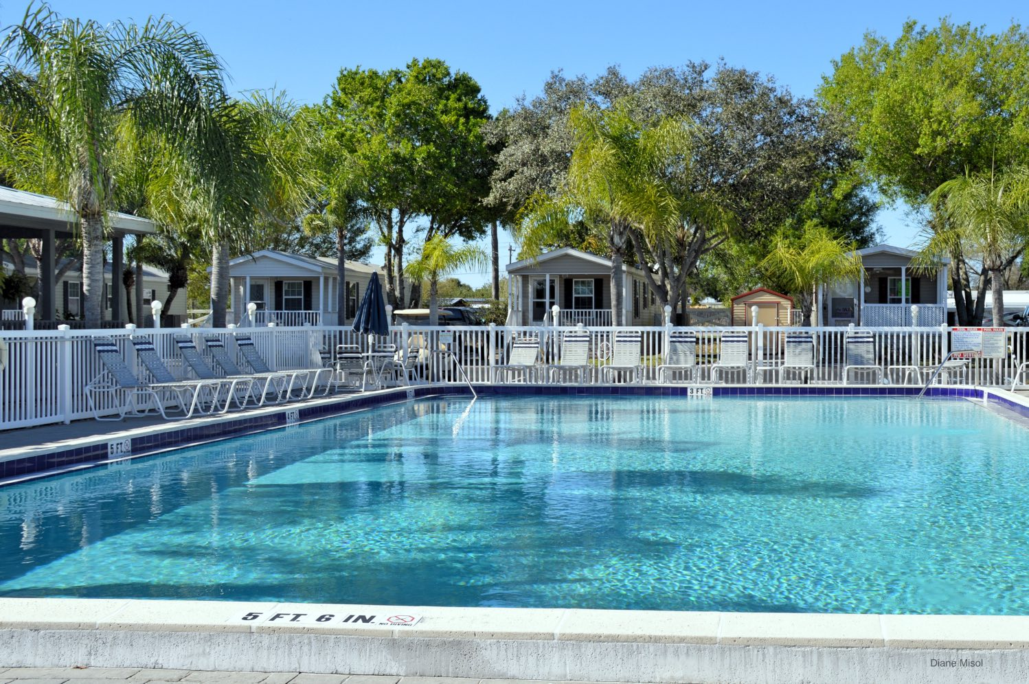 Swimming Pool, RV Resort, Lake Okeechobee