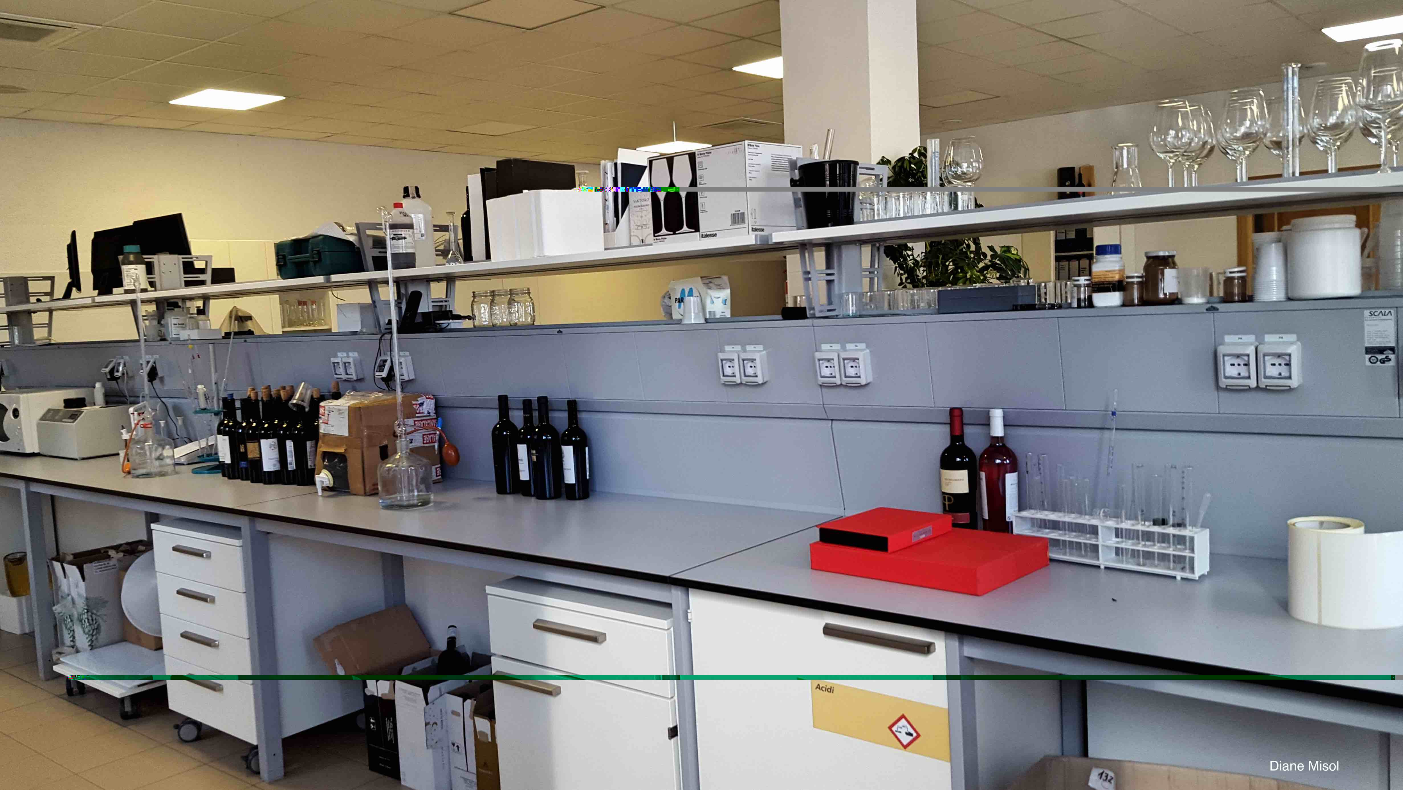The Science behind perfect wine, a Lab somewhere in Puglia, Italy
