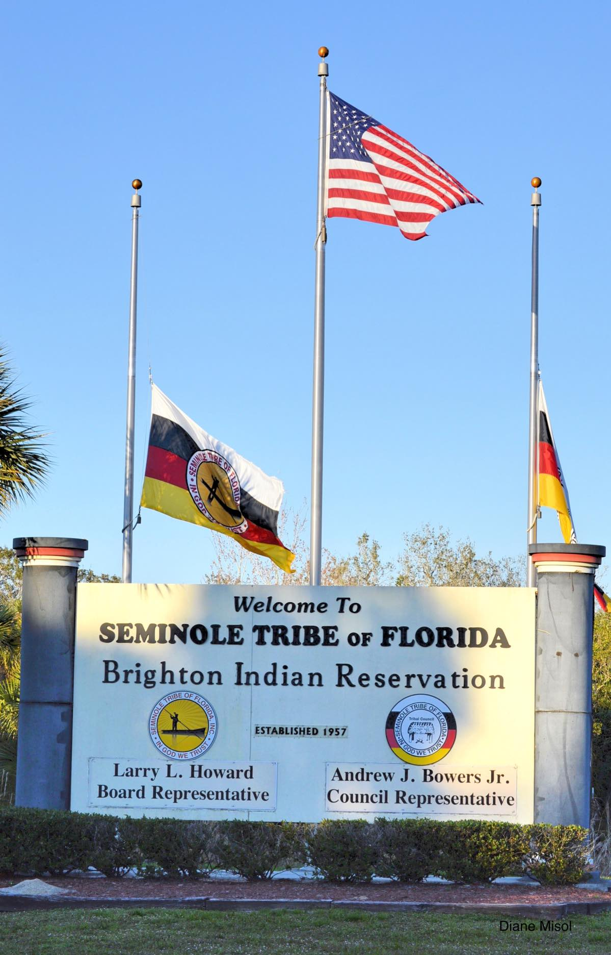 Indian Reservation Sign