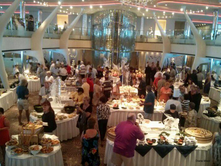 Gala Buffet Cruise Ship