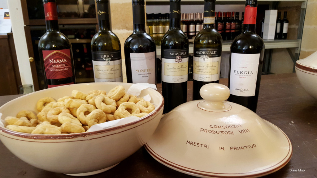 Taralli and Wine Manduria