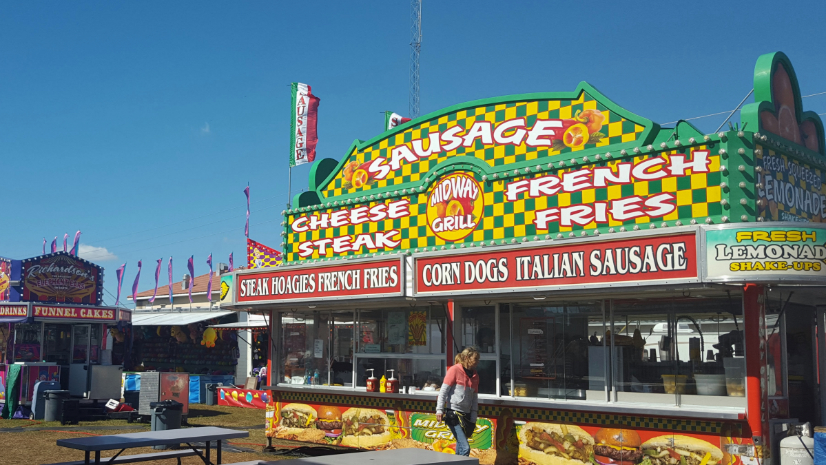 Carny Food Booth