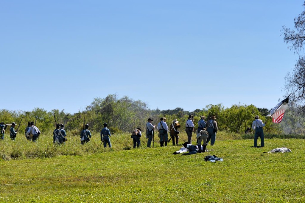 1837 Battle Of Okeechobee, Reenactment