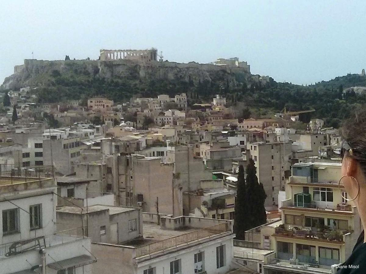 Acropolis Reigns Over the Modern City, Athens, Greece