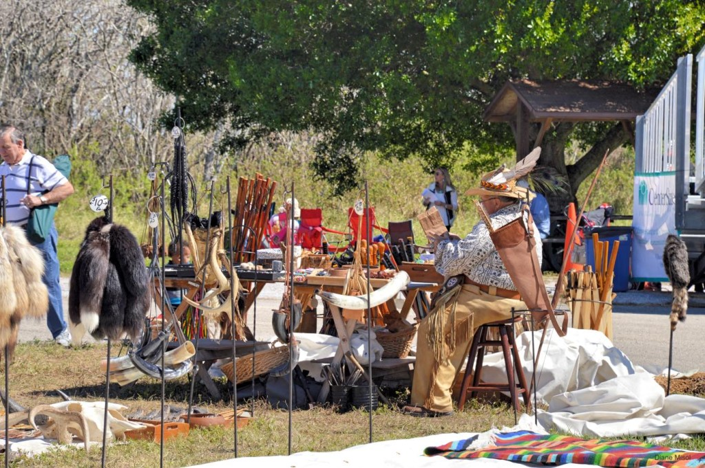 Artisan Vendor at The Battle Of Okeechobee, Florida