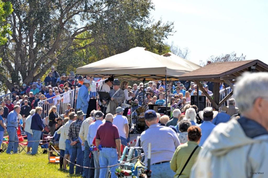 Crowd at The Battle of Okeechobee