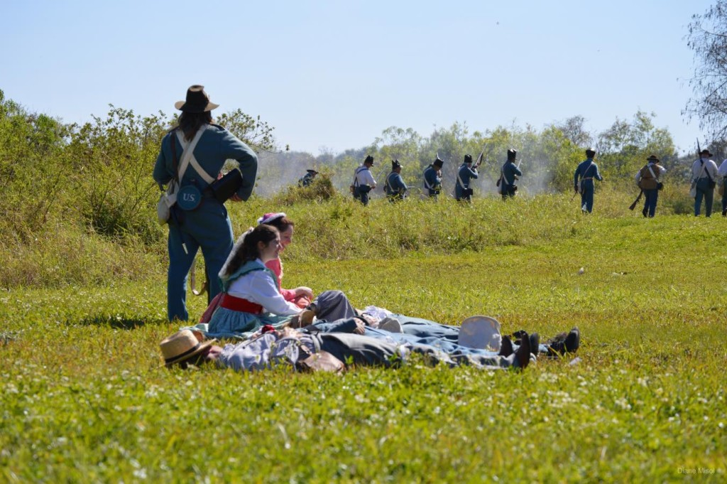 Battlefield Action, Lake Okeechobee, Second Seminole War