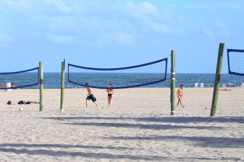 Beach Volley Ball Courts, Fort Lauderdale, Florida