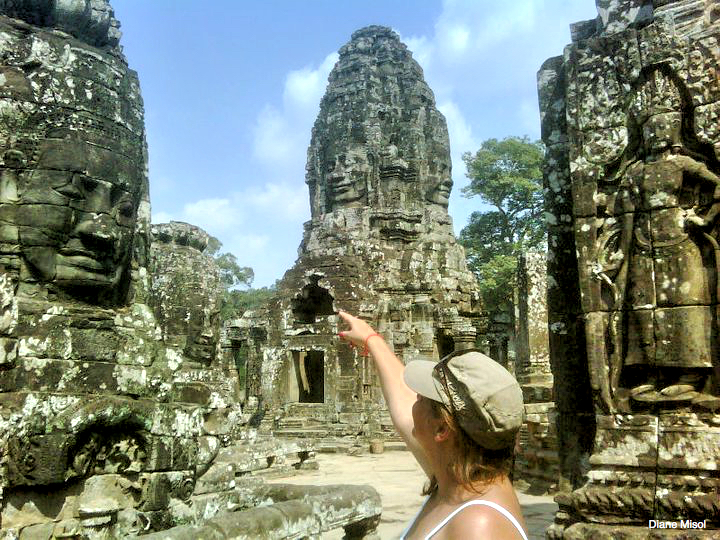 Beautiful Bayon Temple, Cambodia