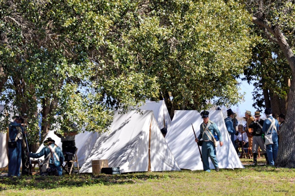 Camp, Battle of Okeechobee, Florida