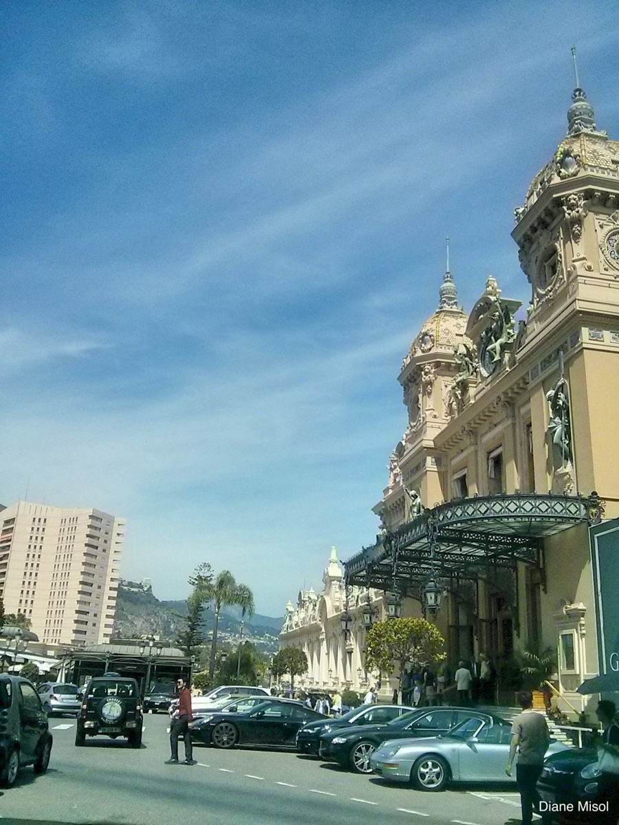 Street view of the Casino Monte Carlo