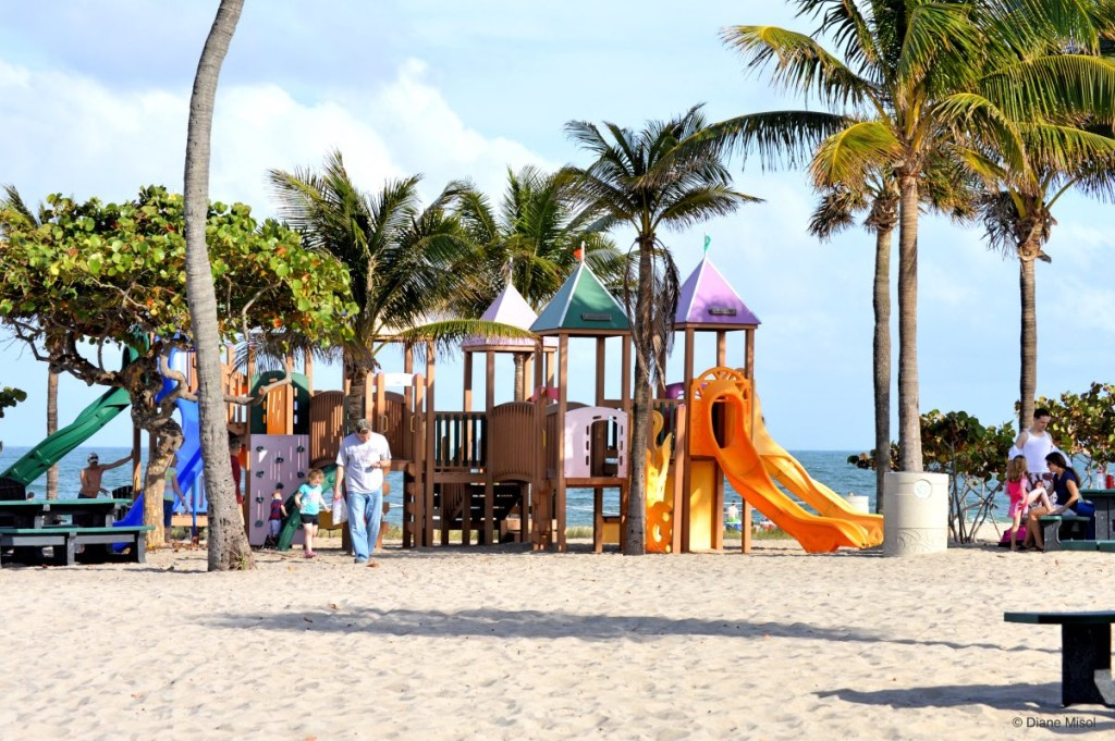 Children's Park at Fort Lauderdale Beach, Florida