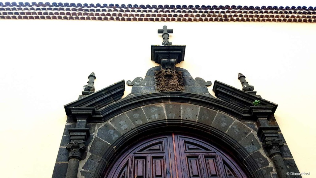 Church Door Detail, Tenerife, Spain