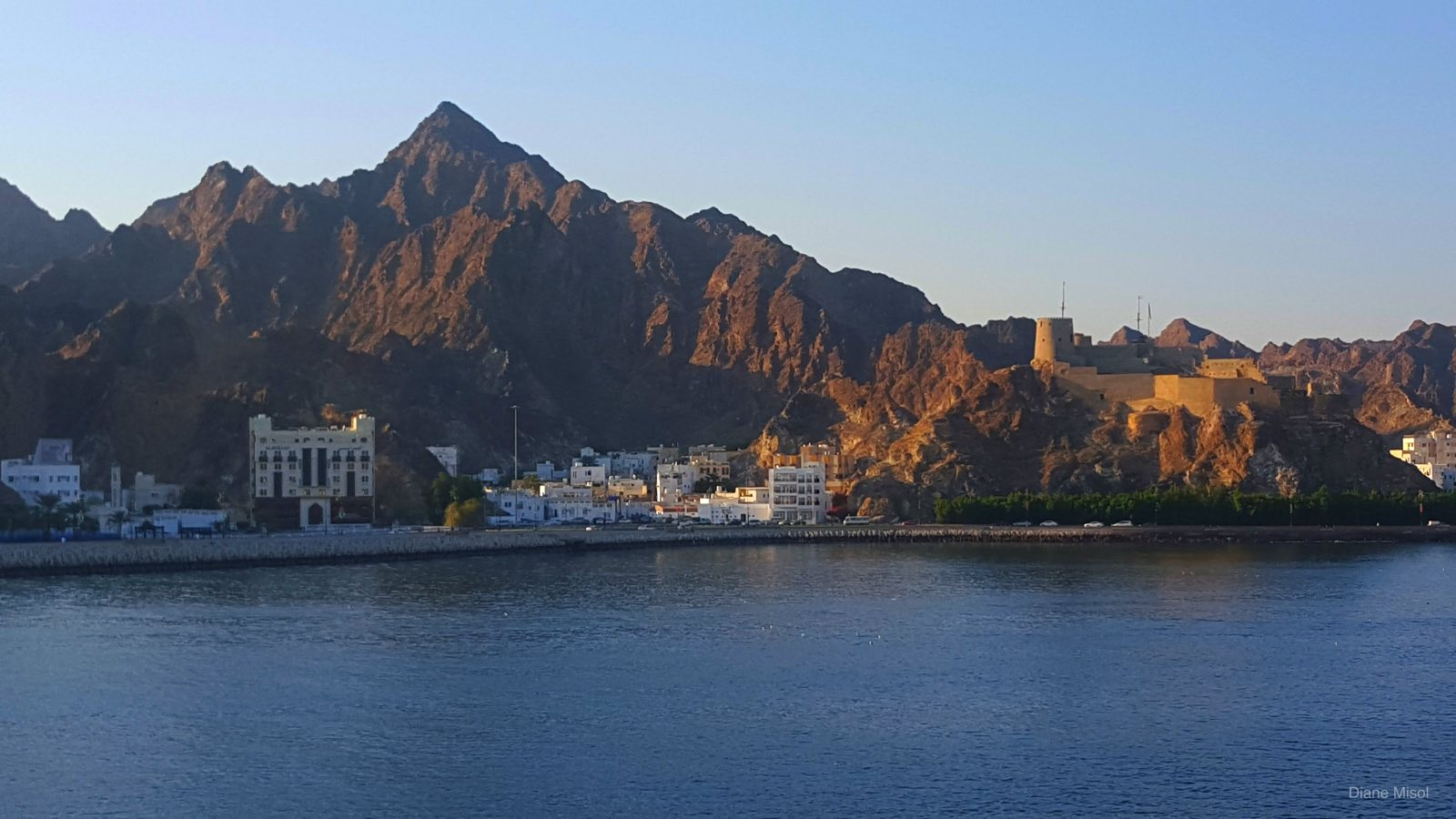 Morning Shoreline, Muscat, Oman