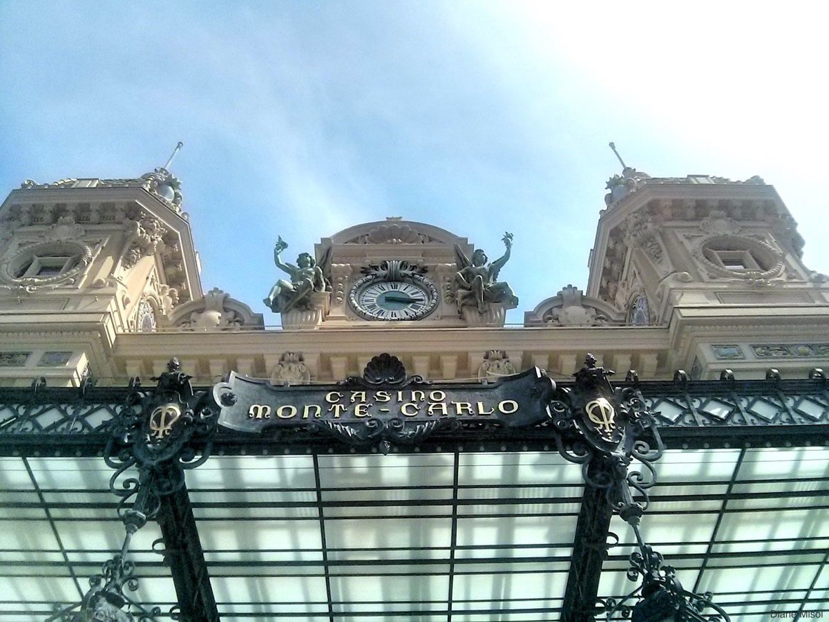 Clock on the Casino Monte Carlo