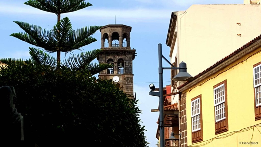 Clocktower, Tenerife, Canary Islands, Spain