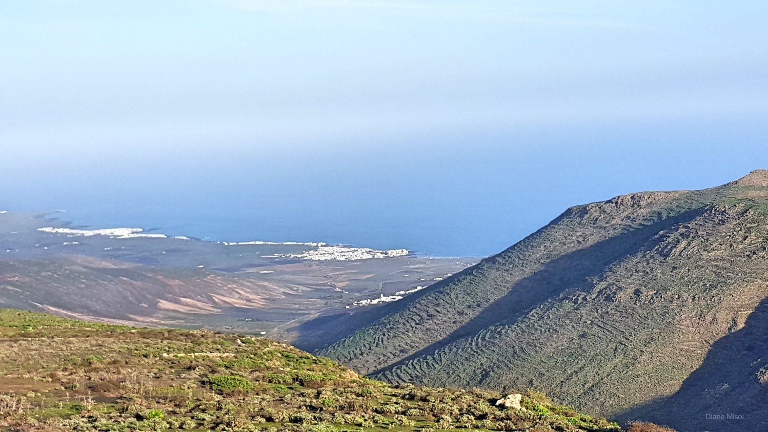 Coastal View of Lanzarote, Canary Islands