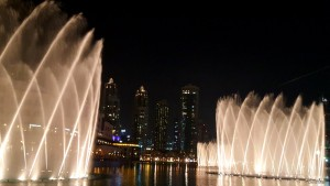 Dancing Fountains, Dubai