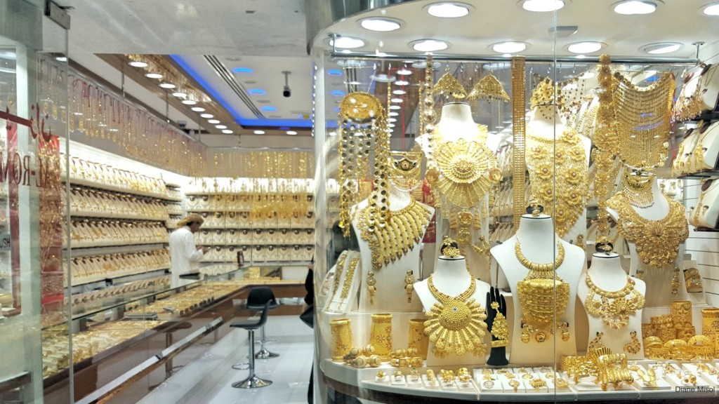 Endless Gold at the Gold Souk in Dubai