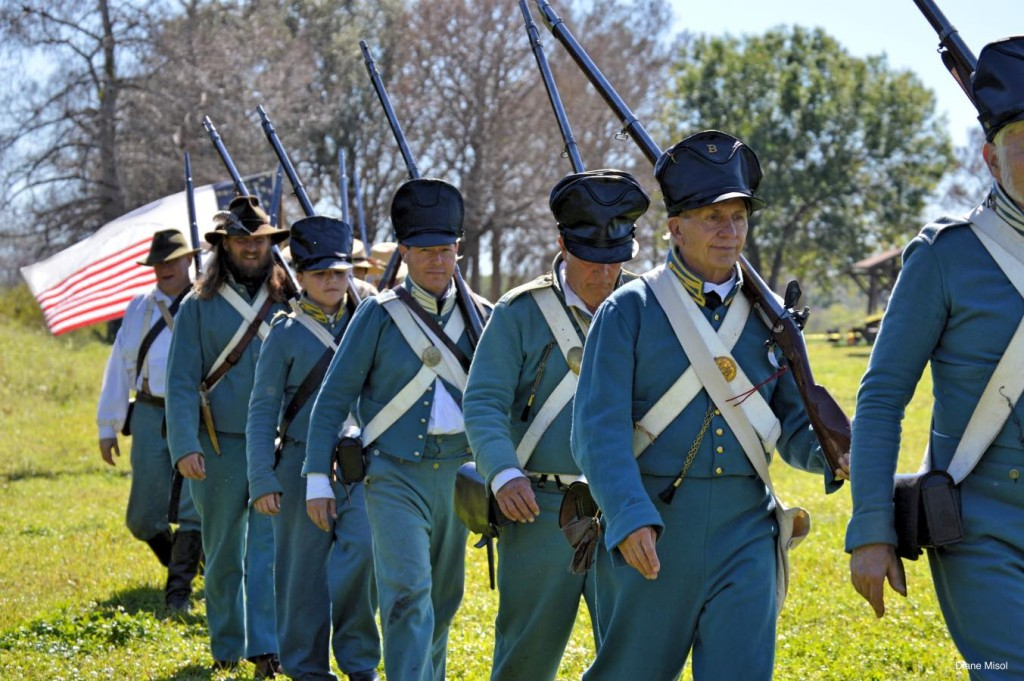 Enlisted Men, Battle Of Okeechobee - Reenactment