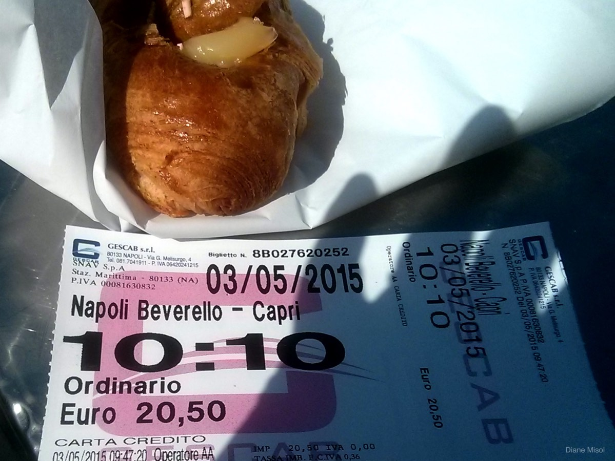 Ferry Ticket from Naples to Capri, Italy