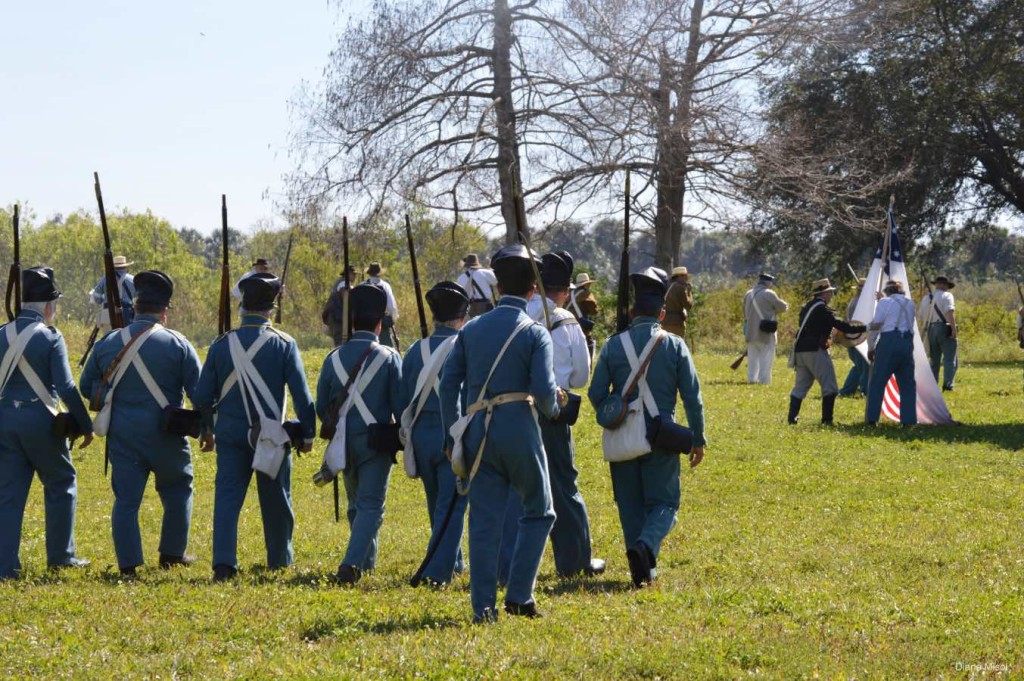 Field Action, Battle Of Okeechobee Reenactment Florida