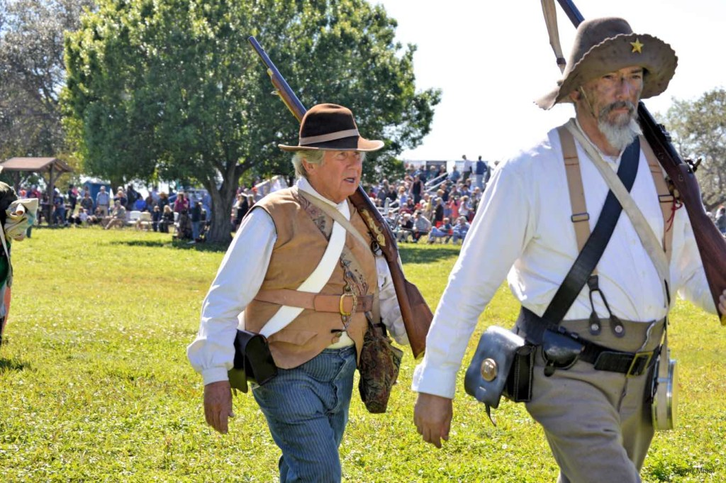 Finished - Fabulous reenactors, Battle Of Okeechobee Florida