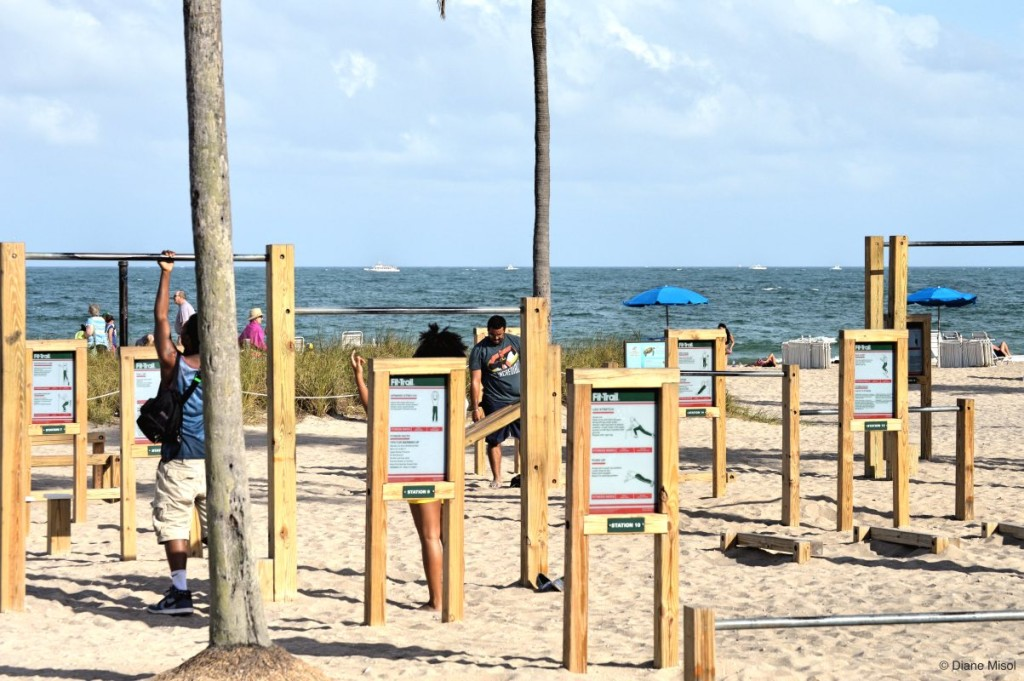 Fit Trail, Fort Lauderdale Beach, Florida