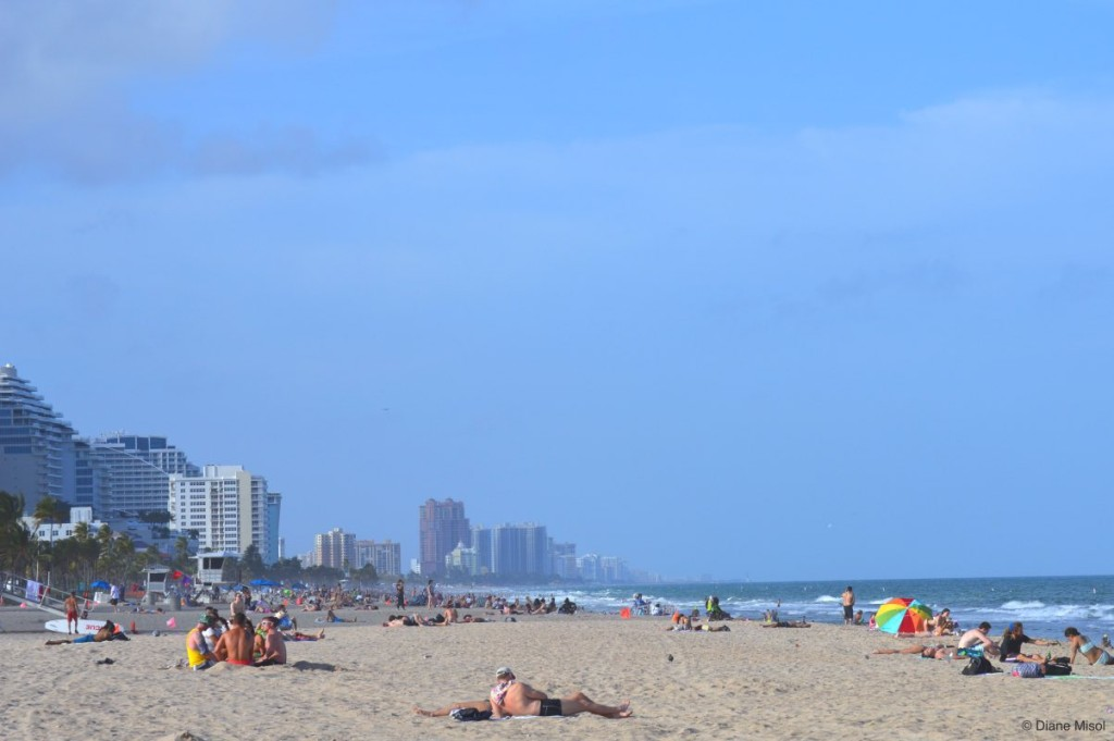 A Stretch of Fort Lauderdale Beach, Florida