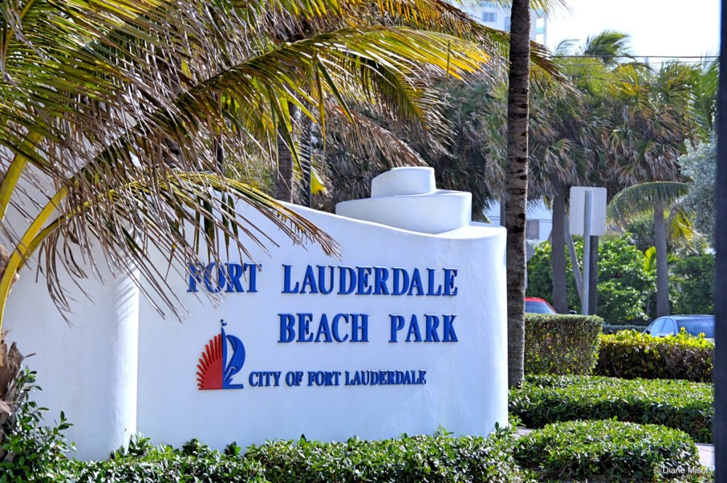 Fort Lauderdale Beach Park Florida USA