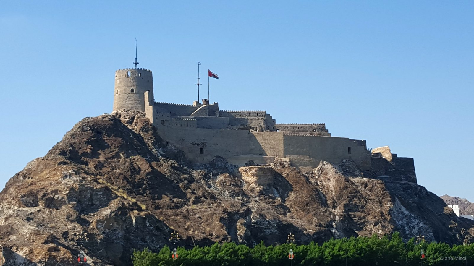 One of many Forts and Castles, Muscat, Oman