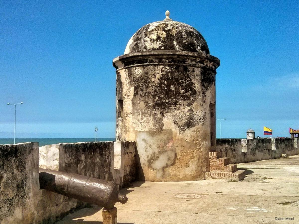 Fort Wall, Cartagena, Colombia