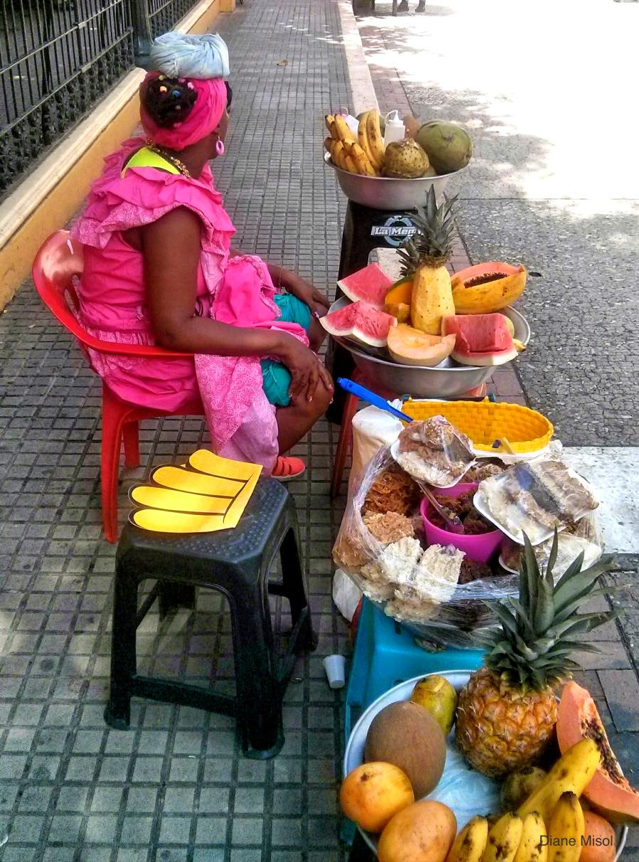 Fruit Lady, Cartagena, Colombia