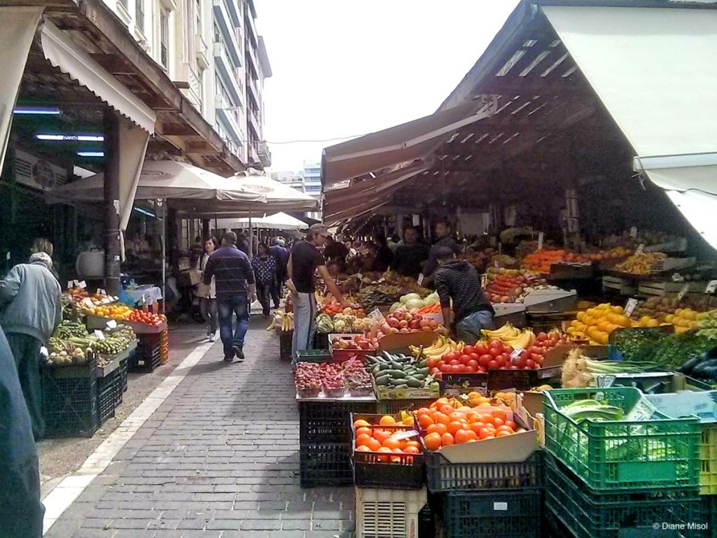 Fruits and Vegetables Market, Athens, Greece